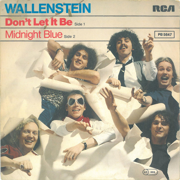 Bild Wallenstein - Don't  Let It Be (7, Single) Schallplatten Ankauf