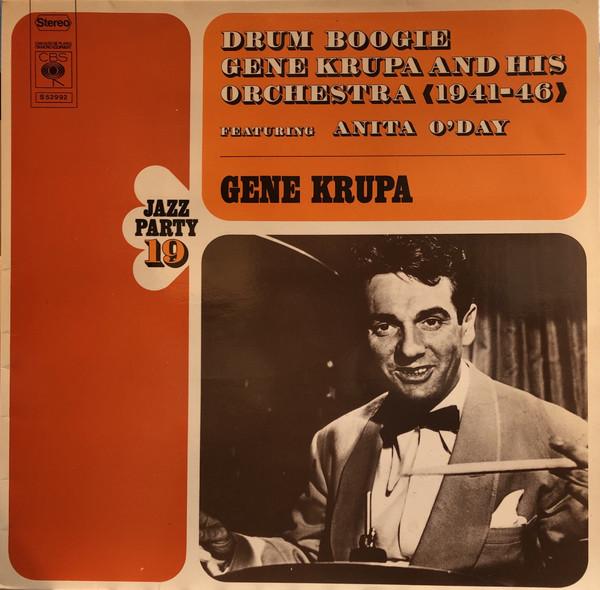 Cover zu Gene Krupa And His Orchestra Featuring Anita O'Day - Drum Boogie (LP, Comp) Schallplatten Ankauf