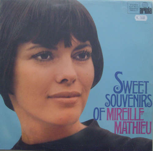 Cover Mireille Mathieu - Sweet Souvenirs Of Mireille Mathieu (LP, Comp) Schallplatten Ankauf