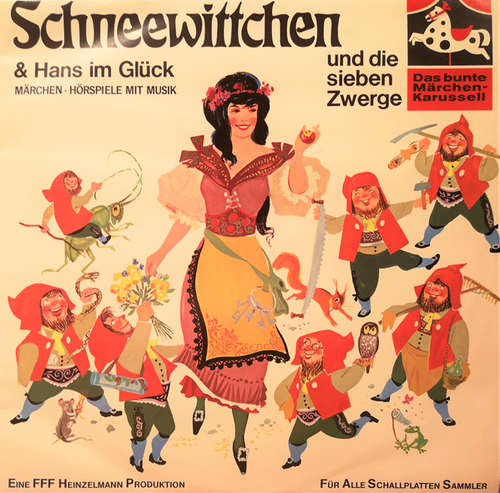 Cover zu Gebrüder Grimm - Schneewittchen Und Die Sieben Zwerge & Hans Im Glück (LP) Schallplatten Ankauf