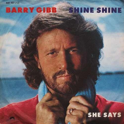 Bild Barry Gibb - Shine Shine (7, Single) Schallplatten Ankauf