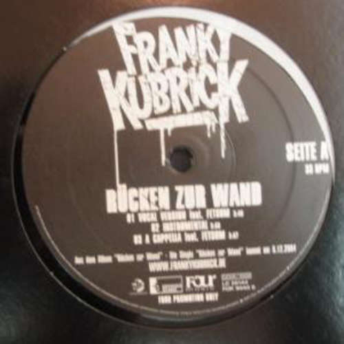 Cover Franky Kubrick - Rücken Zur Wand (12, Maxi, Promo) Schallplatten Ankauf