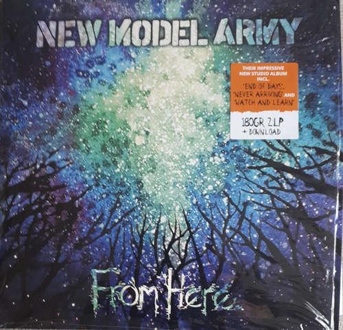 Cover zu New Model Army - From Here (2xLP, Album) Schallplatten Ankauf