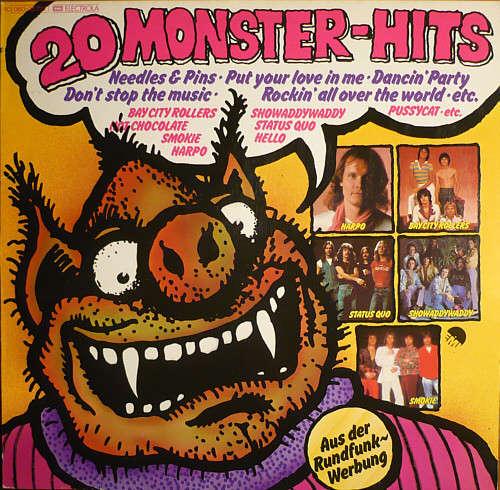 Bild Various - 20 Monster-Hits (LP, Comp) Schallplatten Ankauf