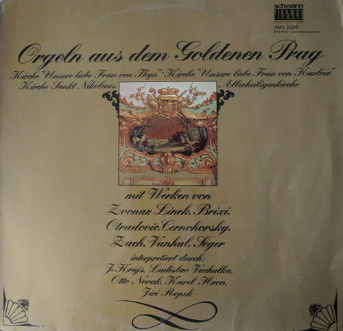 Bild Kirchorgeln Aus Prag - Orgeln Aus Dem Goldenen Prag (LP) Schallplatten Ankauf