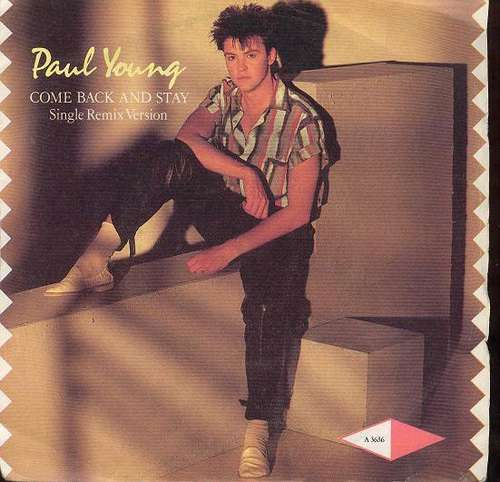 Cover Paul Young - Come Back And Stay (Single Remix Version) (7, Single, Stu) Schallplatten Ankauf