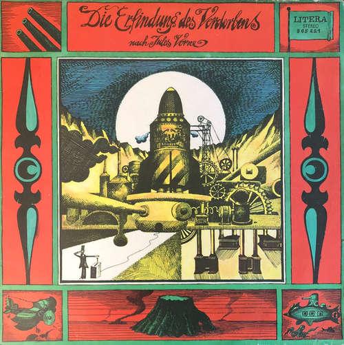 Cover Jules Verne (3) - Die Erfindung Des Verderbens (LP, Sil) Schallplatten Ankauf