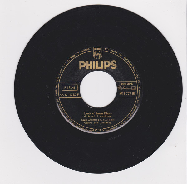 Bild Louis Armstrong u. s. All-Stars* - Mack The Knife (7, Single, Mono, Gol) Schallplatten Ankauf