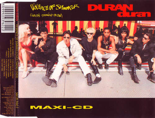 Cover Duran Duran - Violence Of Summer (Love's Taking Over) (CD, Maxi) Schallplatten Ankauf