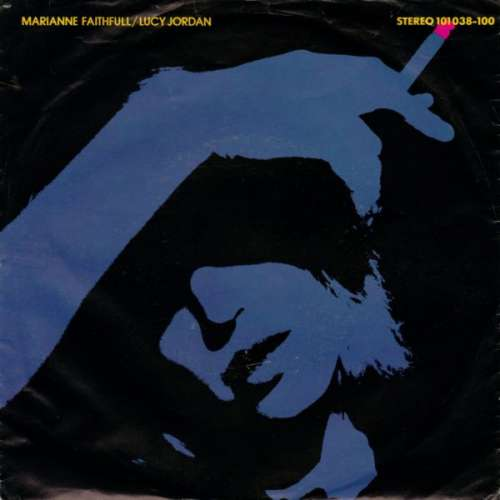 Cover Marianne Faithfull - The Ballad Of Lucy Jordan (7, Single) Schallplatten Ankauf