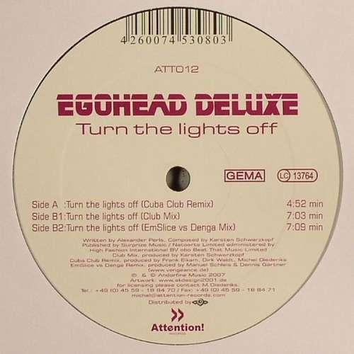 Bild Egohead Deluxe - Turn The Lights Off (12) Schallplatten Ankauf