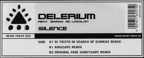 Cover Delerium Feat. Sarah Mc Lachlan* - Silence (12, Maxi) Schallplatten Ankauf