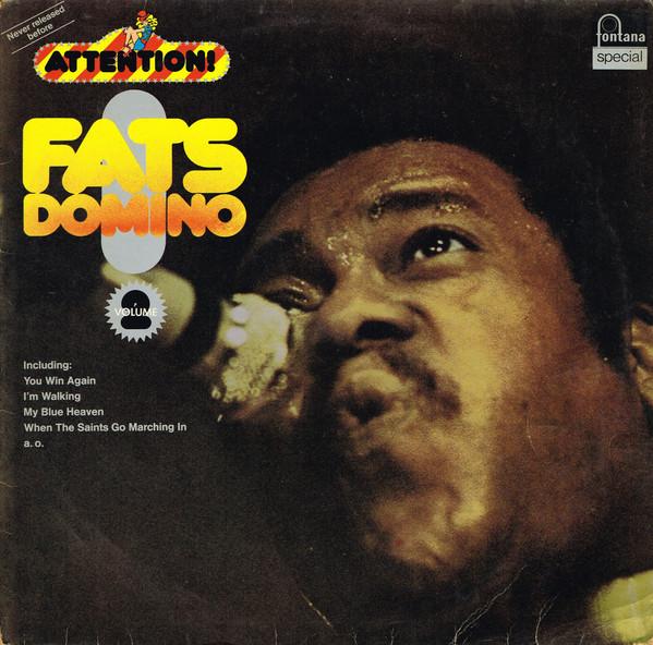 Cover Fats Domino - Attention! Fats Domino! Vol. 2 (LP, Comp) Schallplatten Ankauf
