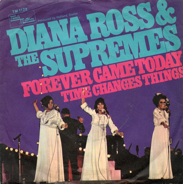 Cover zu Diana Ross & The Supremes - Forever Came Today (7, Single) Schallplatten Ankauf