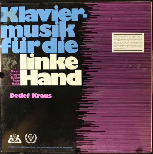 Bild Detlef Kraus - Klaviermusik Für Die Linke Hand (LP) Schallplatten Ankauf