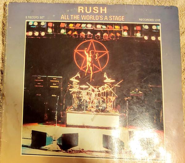Cover Rush - All The World's A Stage (LP, Album, M/Print, PRC) Schallplatten Ankauf