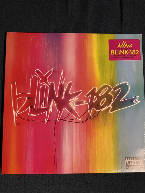 Cover Blink-182 - Nine (LP, Album) Schallplatten Ankauf