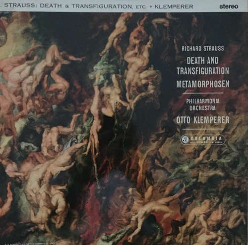 Cover Richard Strauss - Otto Klemperer / Philharmonia Orchestra - Death And Transfiguration / Metamorphosen (LP) Schallplatten Ankauf