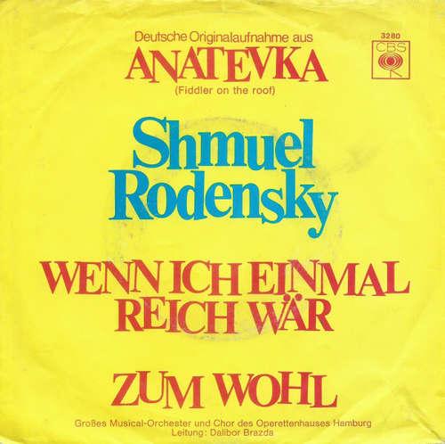 Cover zu Shmuel Rodensky - Wenn Ich Einmal Reich Wär / Zum Wohl (7, Single) Schallplatten Ankauf
