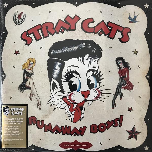 Cover Stray Cats - Runaway Boys! The Anthology (2xLP, Comp) Schallplatten Ankauf