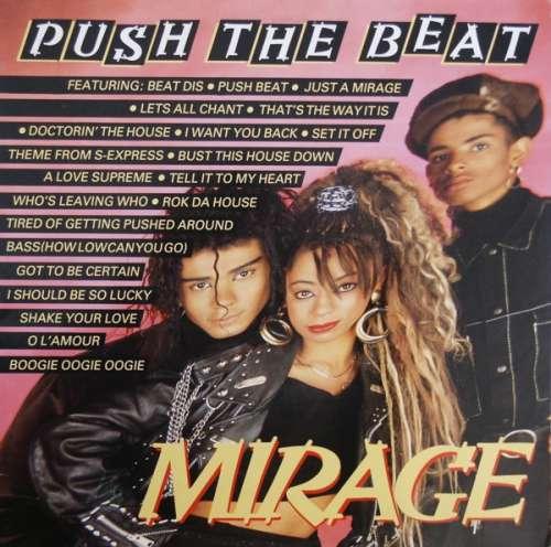 Cover Mirage (12) - Push The Beat (12, P/Mixed) Schallplatten Ankauf