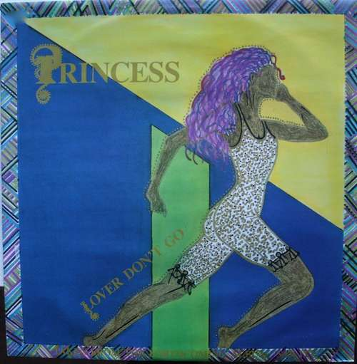 Cover Princess - Lover Don't Go (12) Schallplatten Ankauf