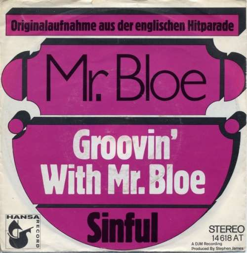 Bild Mr. Bloe - Groovin' With Mr. Bloe (7, Single) Schallplatten Ankauf