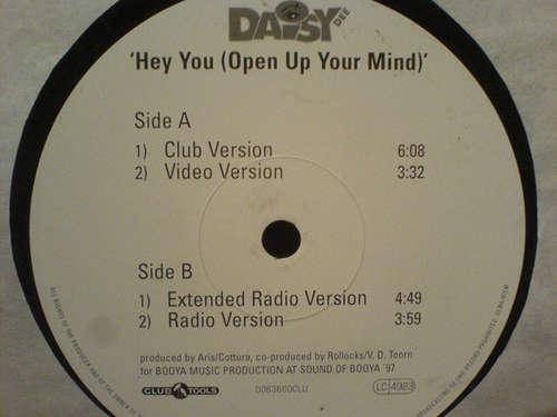 Cover zu Daisy Dee - Hey You (Open Up Your Mind) (12) Schallplatten Ankauf
