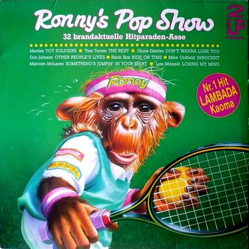 Cover Various - Ronny's Pop Show 14 (32 Brandaktuelle Hitparaden-Asse) (2xLP, Comp) Schallplatten Ankauf