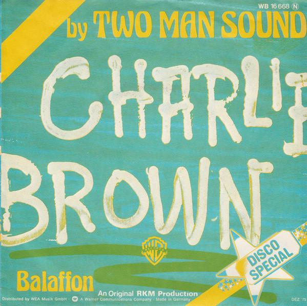 Cover zu Two Man Sound - Charlie Brown (7, Single) Schallplatten Ankauf