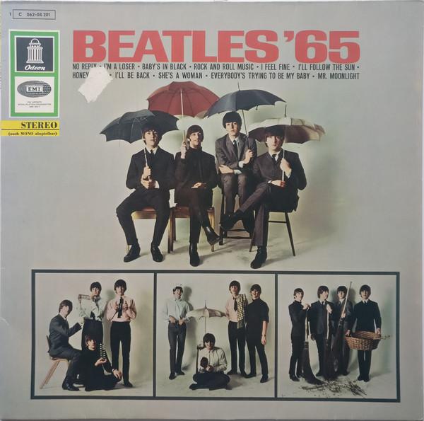 Cover The Beatles - Beatles '65 (LP, Album, RP) Schallplatten Ankauf