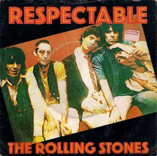 Cover The Rolling Stones - Respectable (7, Single) Schallplatten Ankauf