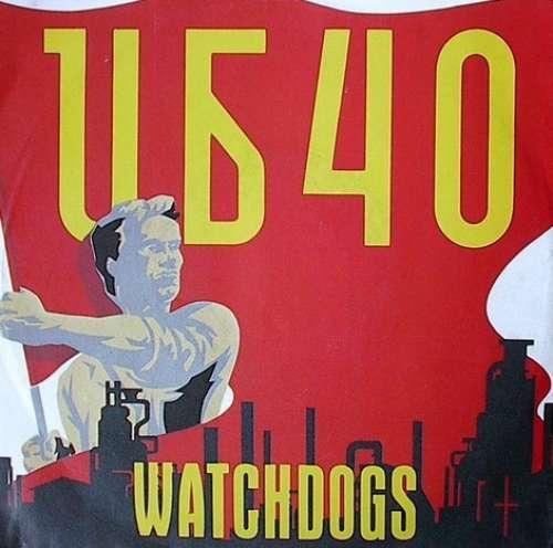 Cover UB40 - Watchdogs (7, Single) Schallplatten Ankauf