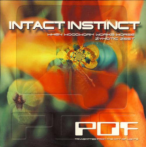 Cover Intact Instinct - When Woodworm Works Worse / Zymotic Zest (12, EP) Schallplatten Ankauf