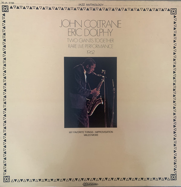Cover John Coltrane / Eric Dolphy - Two Giants Together - Rare Live Performance 1962 (LP) Schallplatten Ankauf