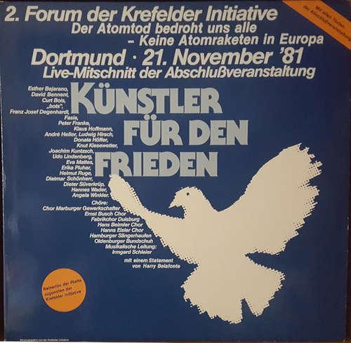 Cover Various - Künstler Für Den Frieden (2xLP, Comp) Schallplatten Ankauf
