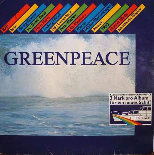 Cover Various - Greenpeace (LP, Comp) Schallplatten Ankauf