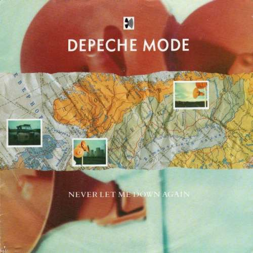 Cover Depeche Mode - Never Let Me Down Again (7, Single) Schallplatten Ankauf
