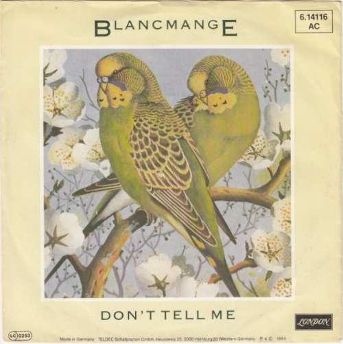 Bild Blancmange - Don't Tell Me (7, Single) Schallplatten Ankauf