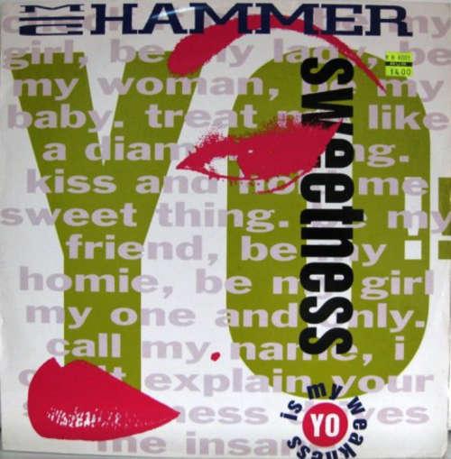 Cover MC Hammer - Yo Sweetness (Is My Weakness) (12, Single) Schallplatten Ankauf