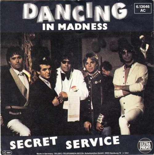 Cover zu Secret Service - Dancing In Madness (7, Single) Schallplatten Ankauf