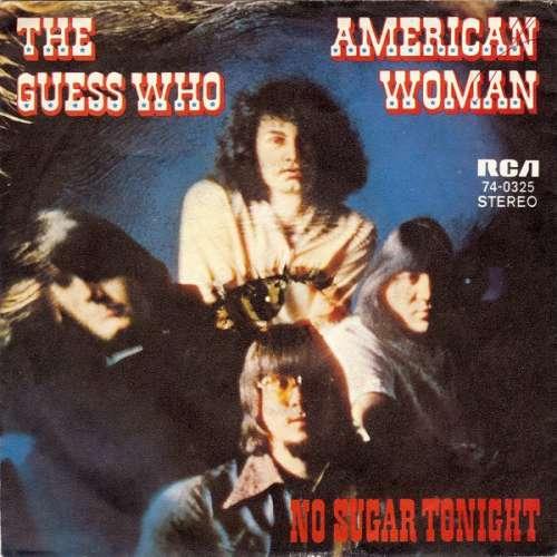 Cover zu The Guess Who - American Woman (7, Single) Schallplatten Ankauf