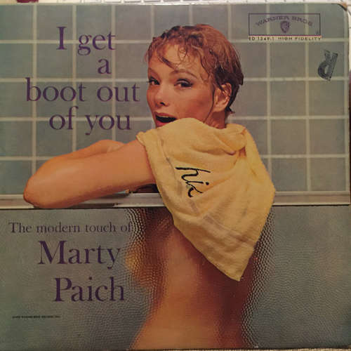 Cover Marty Paich - I Get A Boot Out Of You (7, EP) Schallplatten Ankauf