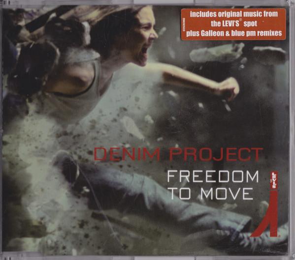 Cover Denim Project - Freedom To Move (CD, Maxi) Schallplatten Ankauf