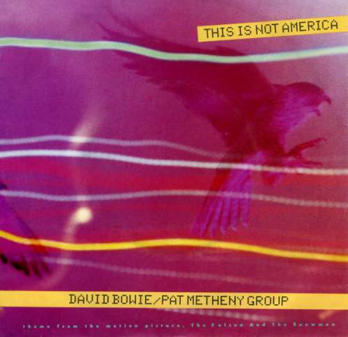 Cover David Bowie / Pat Metheny Group - This Is Not America (7, Single) Schallplatten Ankauf
