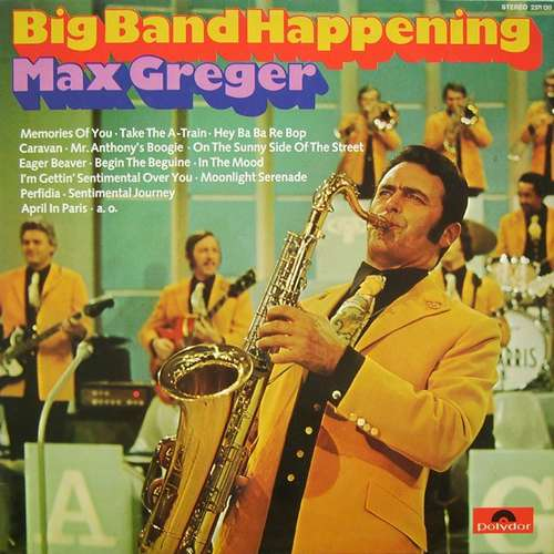 Bild Max Greger - Big Band Happening (LP, Album) Schallplatten Ankauf