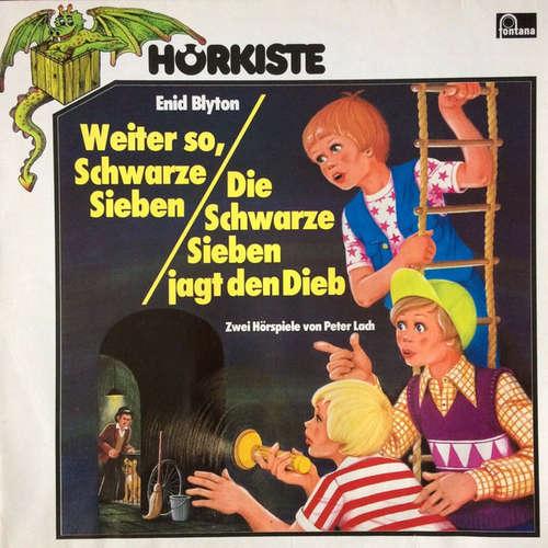 Cover zu Enid Blyton - Weiter So, Schwarze Sieben / Die Schwarze Sieben Jagt Den Dieb (LP) Schallplatten Ankauf