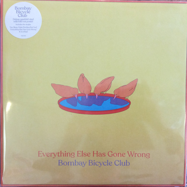 Cover Bombay Bicycle Club - Everything Else Has Gone Wrong (2xLP, Album, Dlx) Schallplatten Ankauf