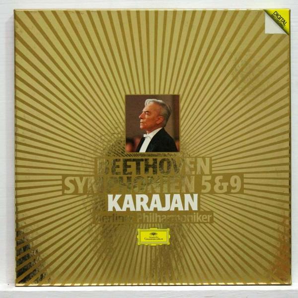 Bild Beethoven*, Karajan*, Berliner Philharmoniker - Symphonien 5 & 9 (2xLP + Box) Schallplatten Ankauf