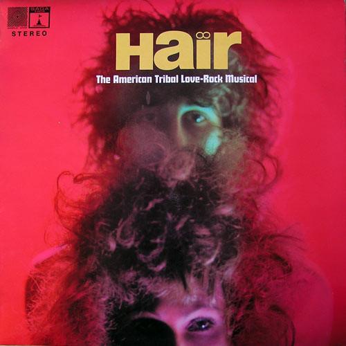 Cover The Graham Walker Sound - Hair (The American Tribal Love-Rock Musical) (LP) Schallplatten Ankauf